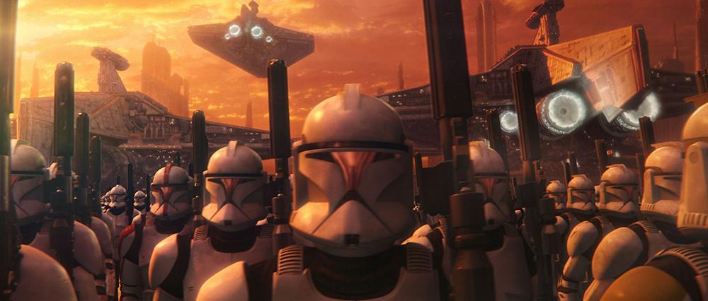 Scena tratta da Star Wars Episode II: Attack of the Clones