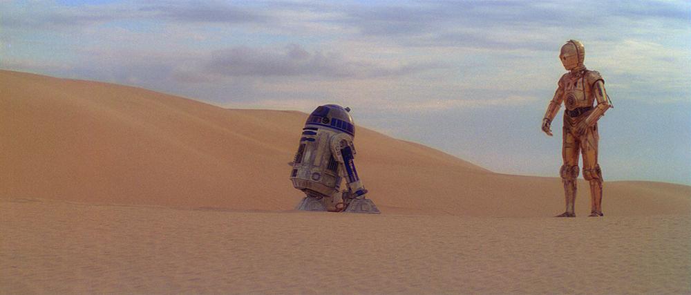 Scena tratta da Guerre Stellari Episodio IV: Una Nuova Speranza