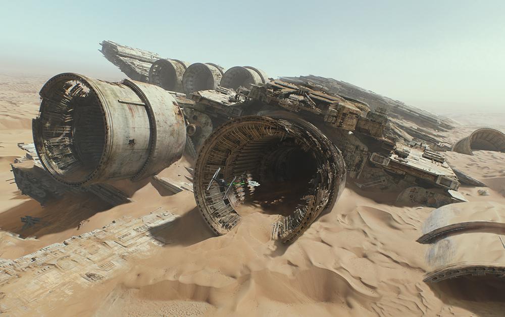 Scena tratta da Star Wars: Il Risveglio della Forza