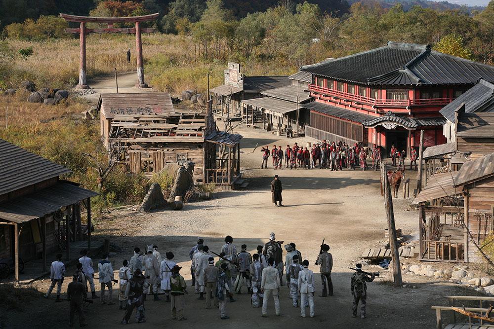Scena tratta da Sukiyaki Western Django