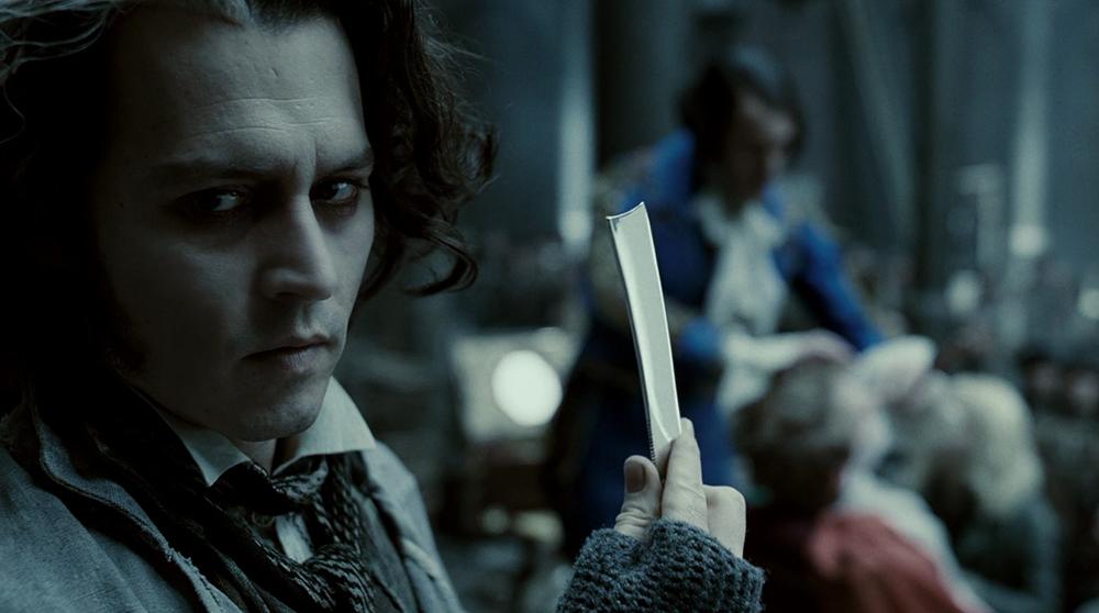 Scena tratta da Sweeney Todd - Il Diabolico Barbiere di Fleet Street