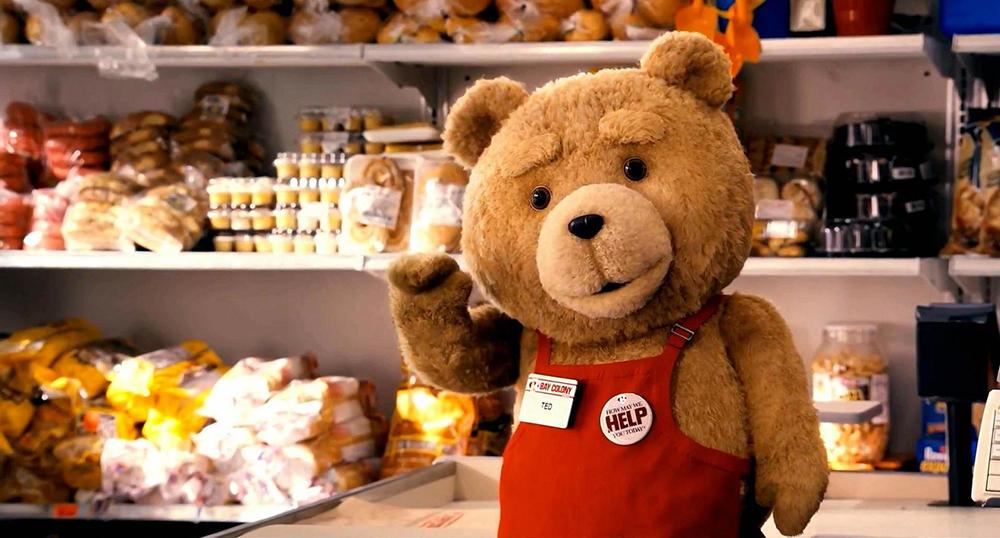 Scena tratta da Ted