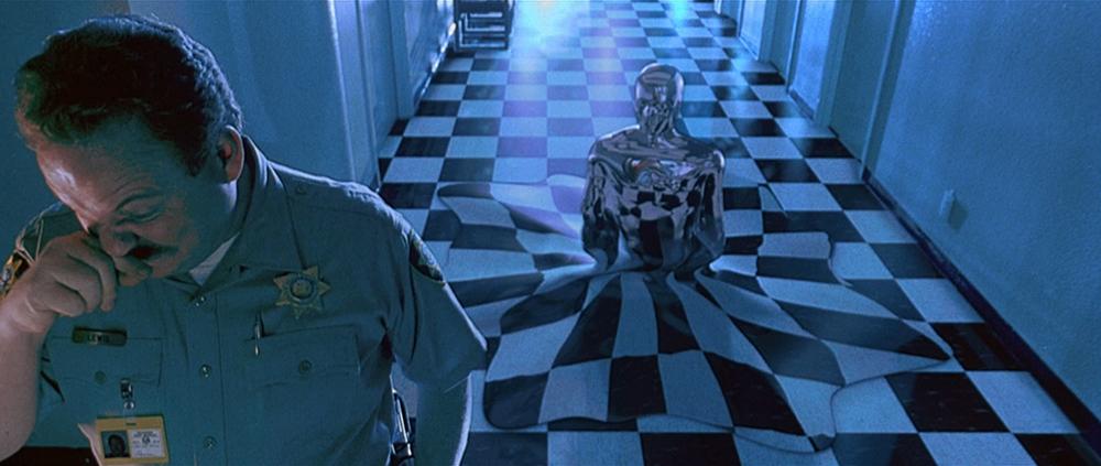 Scena tratta da Terminator 2 - Il Giorno del Giudizio