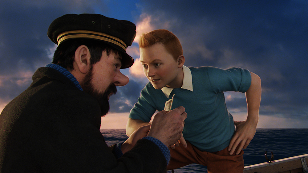 Scena tratta da The Adventures of Tintin