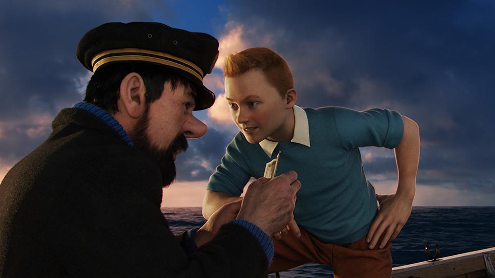 Scena tratta da Le Avventure di Tintin - Il Segreto dell'Unicorno