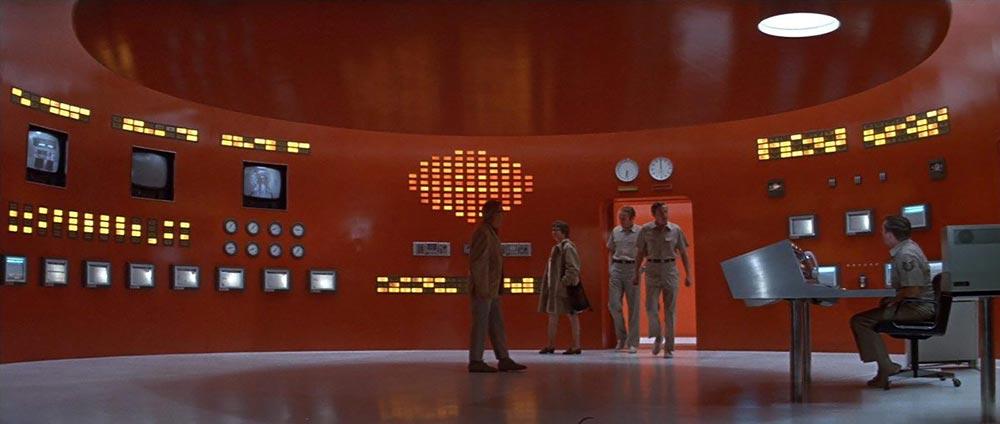 Scena tratta da The Andromeda Strain