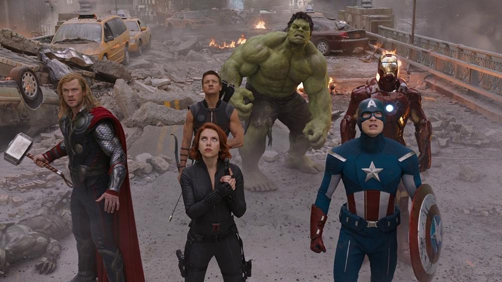 Scena tratta da The Avengers