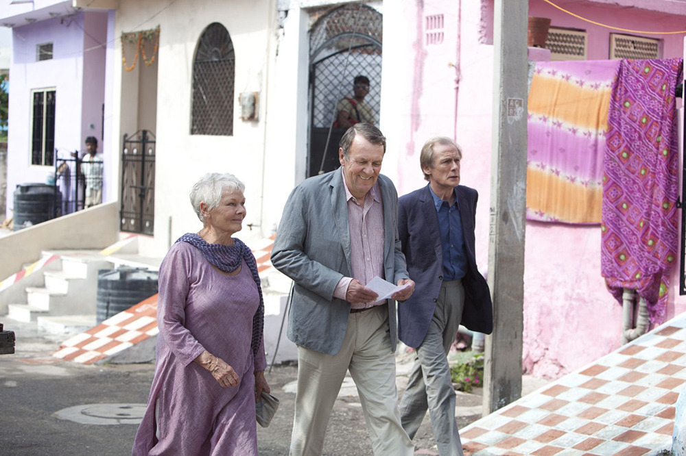 Scena tratta da The Best Exotic Marigold Hotel