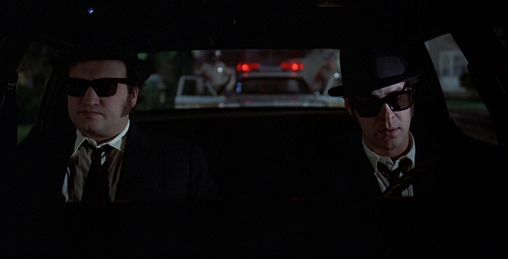 Scena tratta da The Blues Brothers