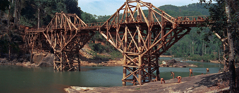 Scena tratta da The Bridge on the River Kwai