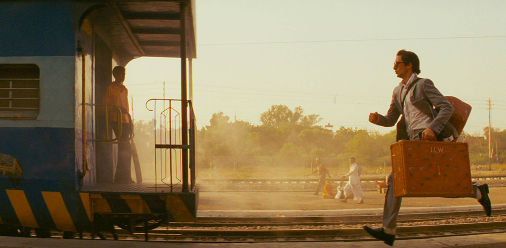 Scena tratta da Il Treno per il Darjeeling