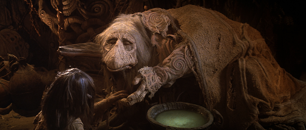 Scena tratta da The Dark Crystal