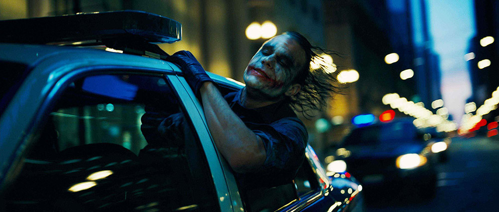 Scena tratta da The Dark Knight