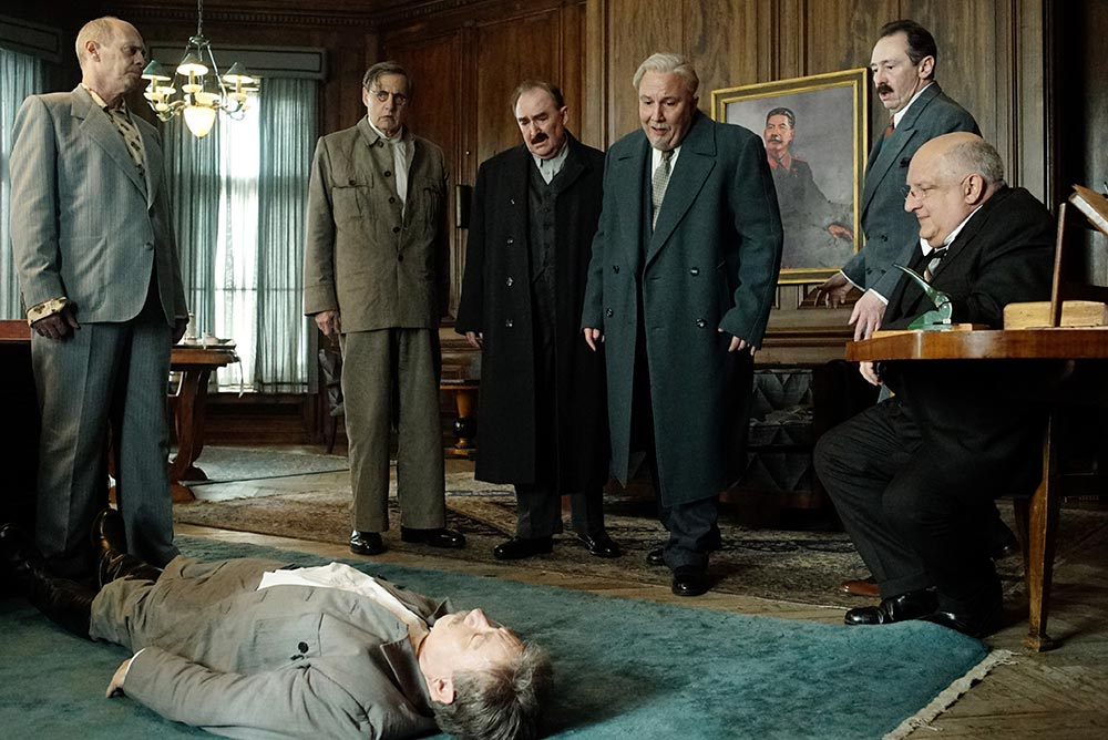 Scena tratta da The Death of Stalin