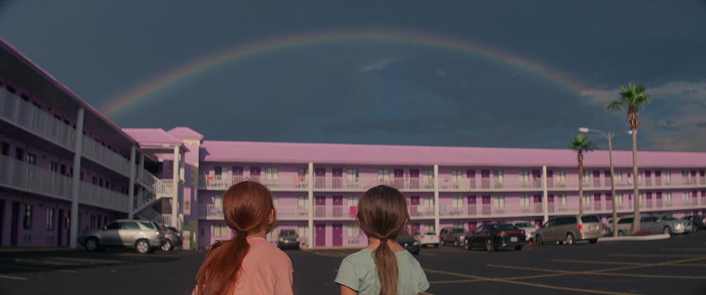 Scena tratta da The Florida Project