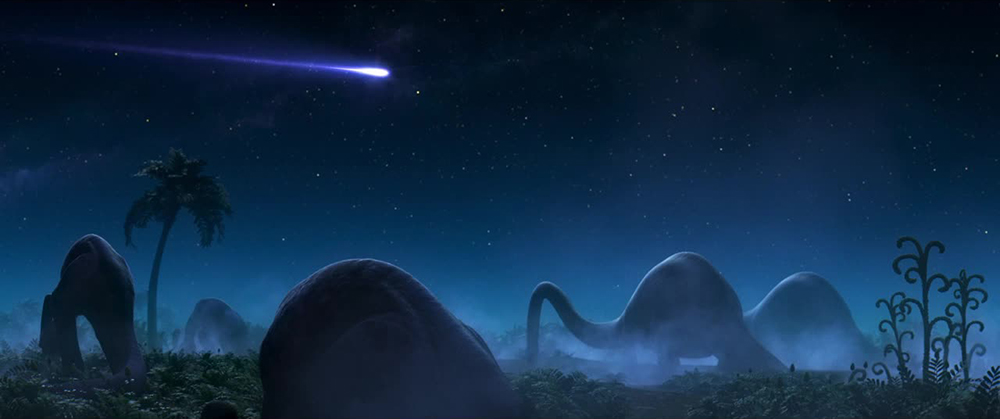 Scena tratta da The Good Dinosaur