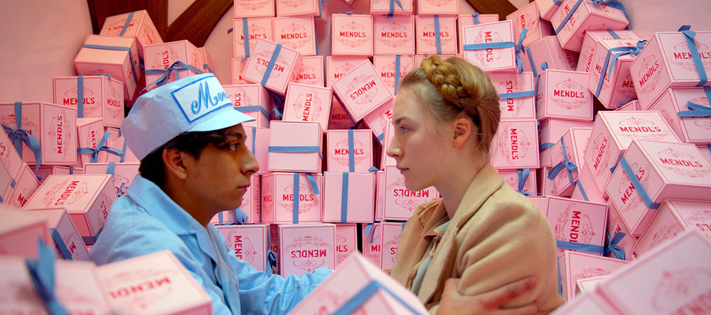 Scena tratta da The Grand Budapest Hotel
