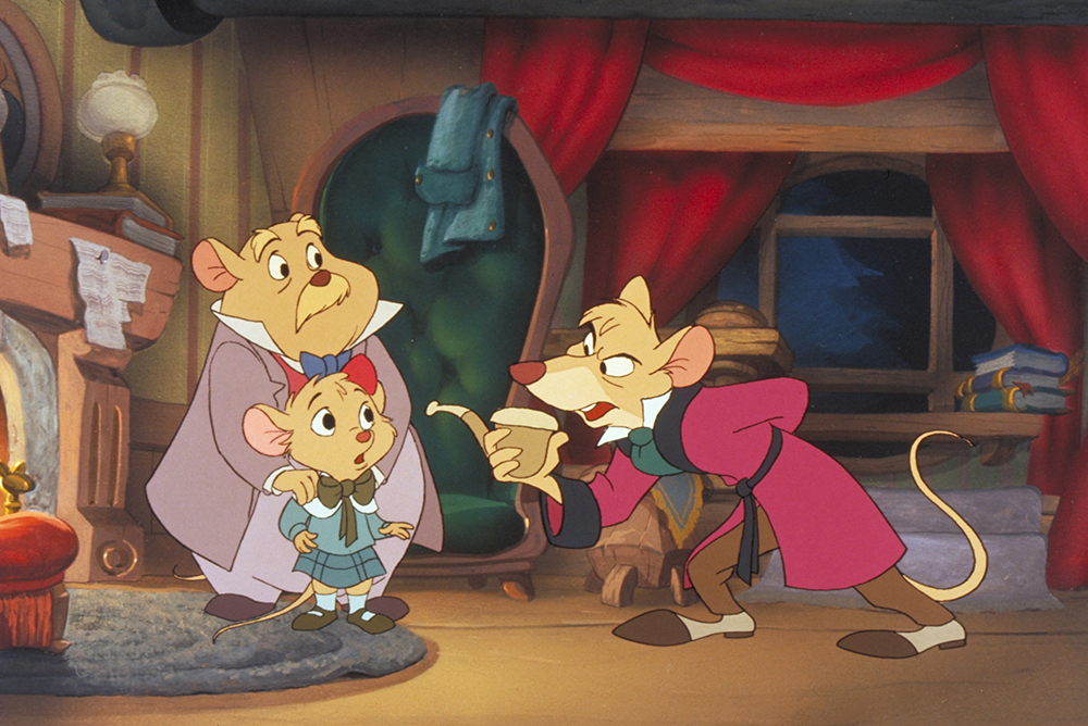 Scena tratta da The Great Mouse Detective