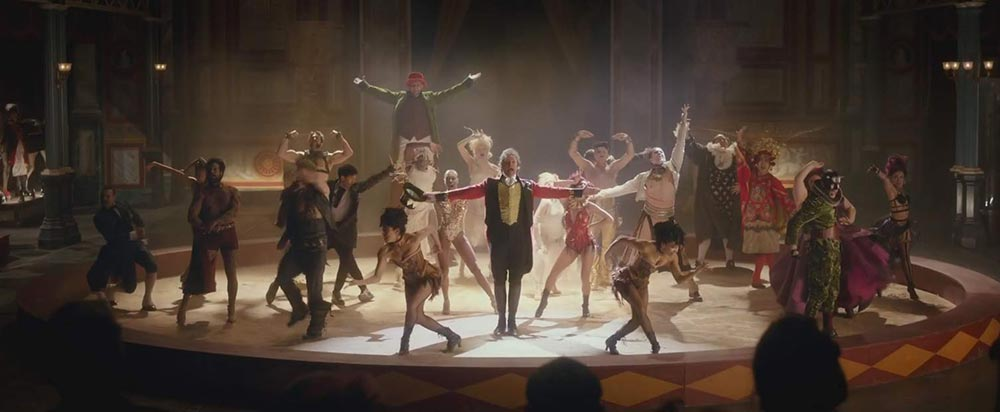 Scena tratta da The Greatest Showman