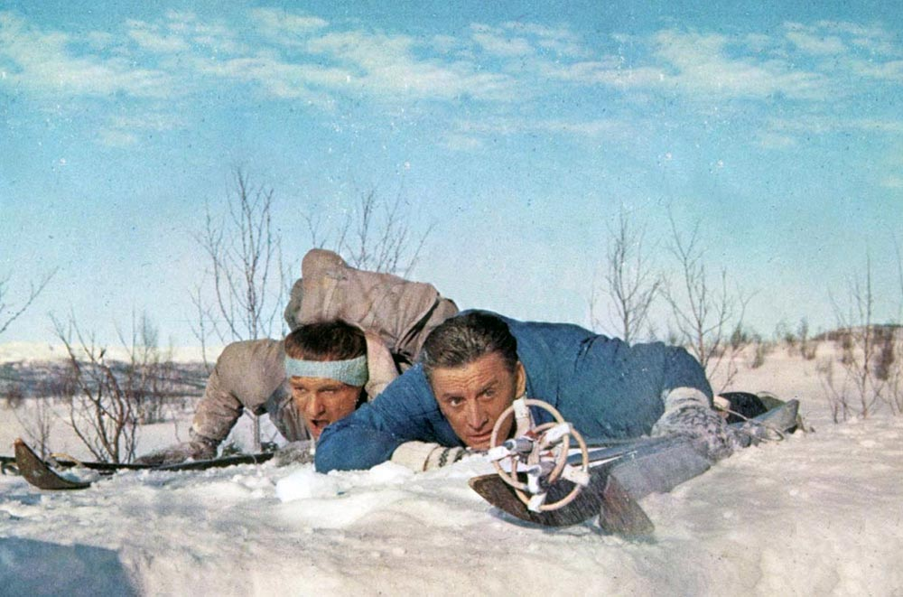 Scena tratta da The Heroes of Telemark