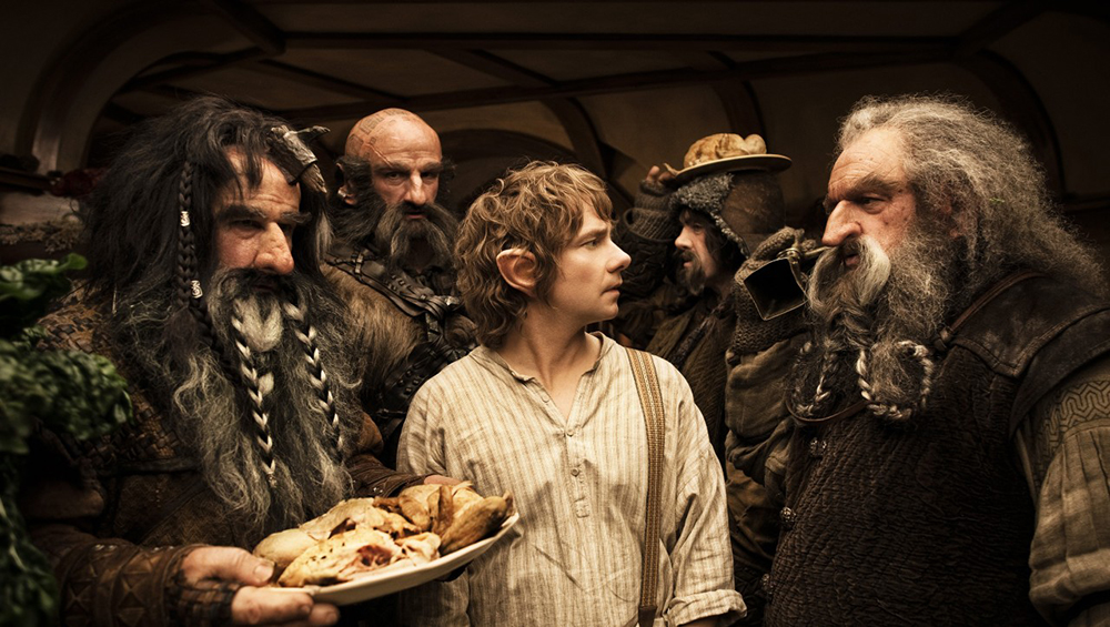 Scena tratta da The Hobbit: An Unexpected Journey