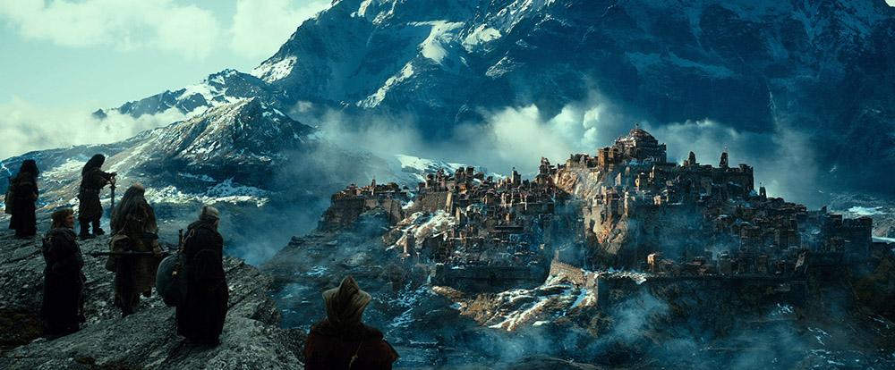 Scena tratta da Lo Hobbit - La Desolazione di Smaug