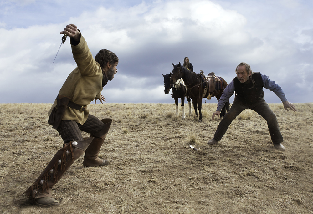 Scena tratta da The Homesman