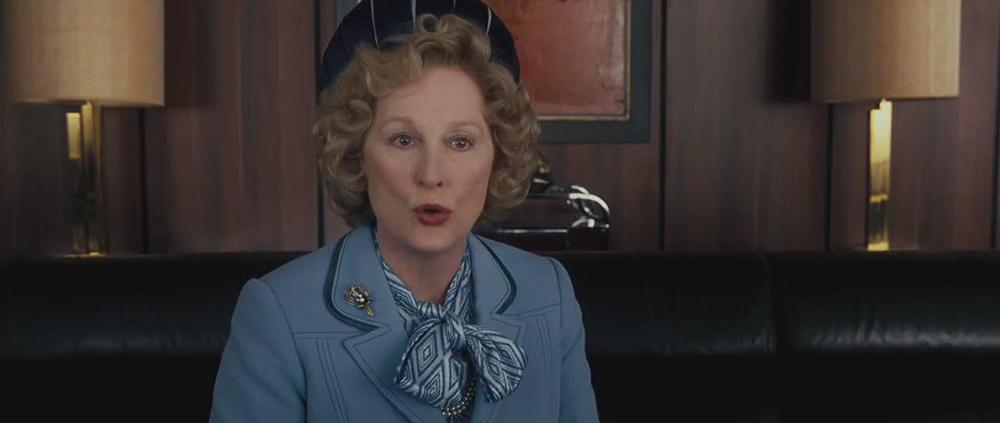 Scena tratta da The Iron Lady