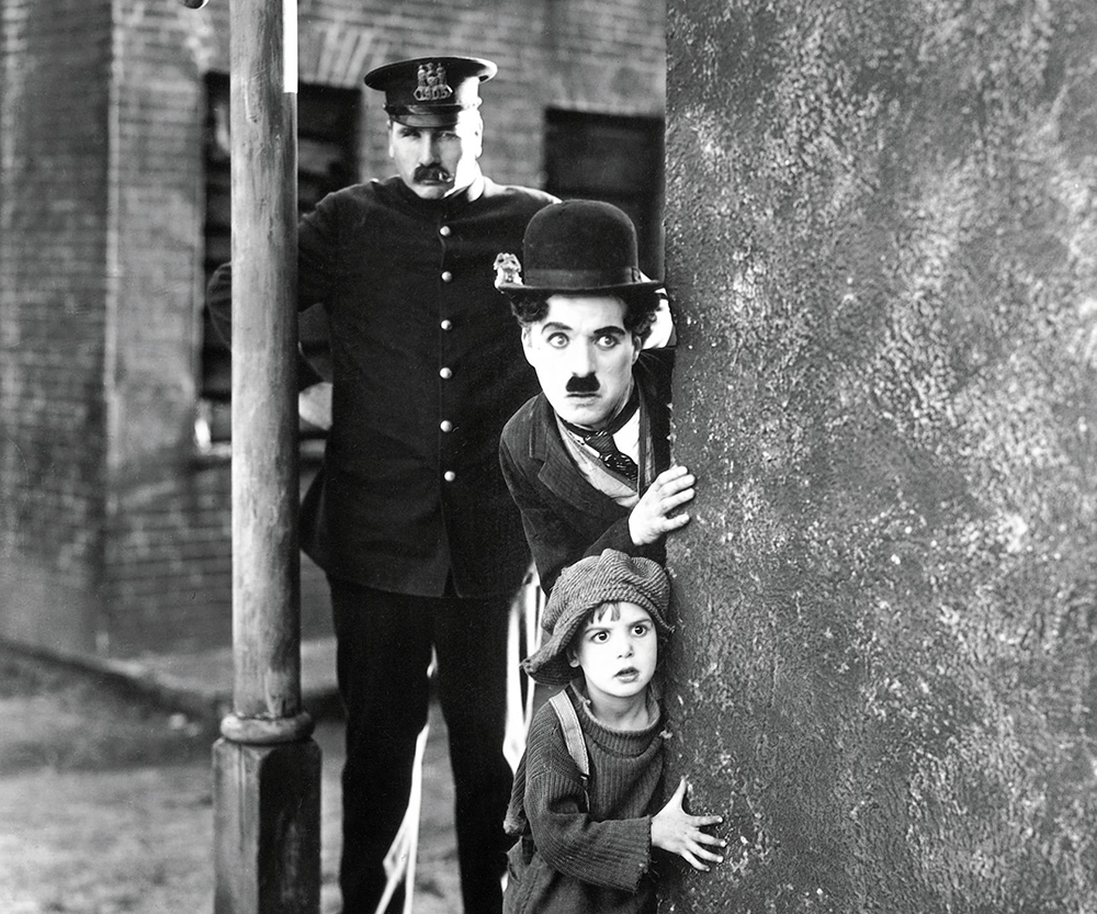 Scena tratta da The Kid