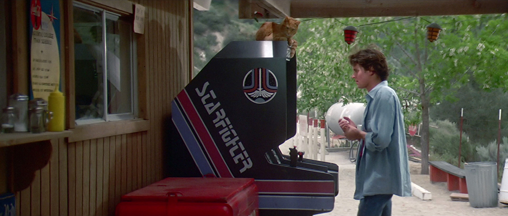 Scena tratta da The Last Starfighter