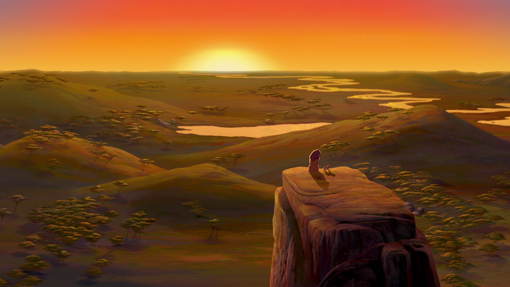 Scena tratta da The Lion King