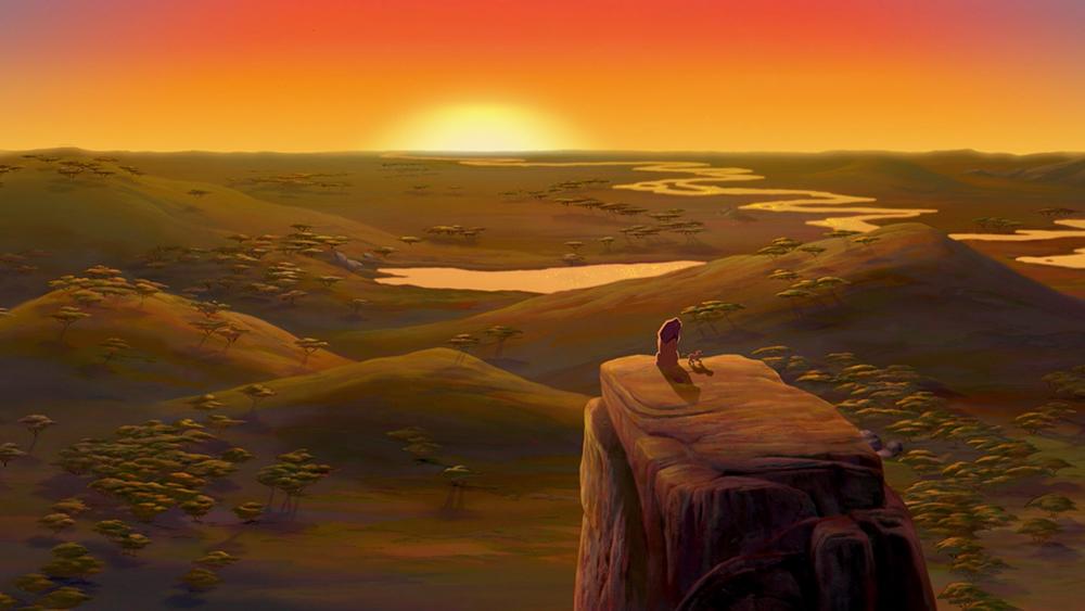 Scena tratta da Il Re Leone