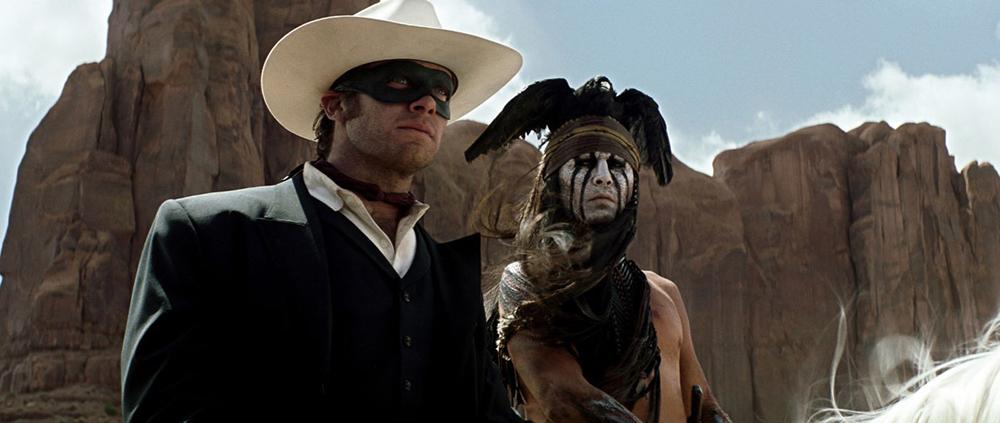 Scena tratta da The Lone Ranger