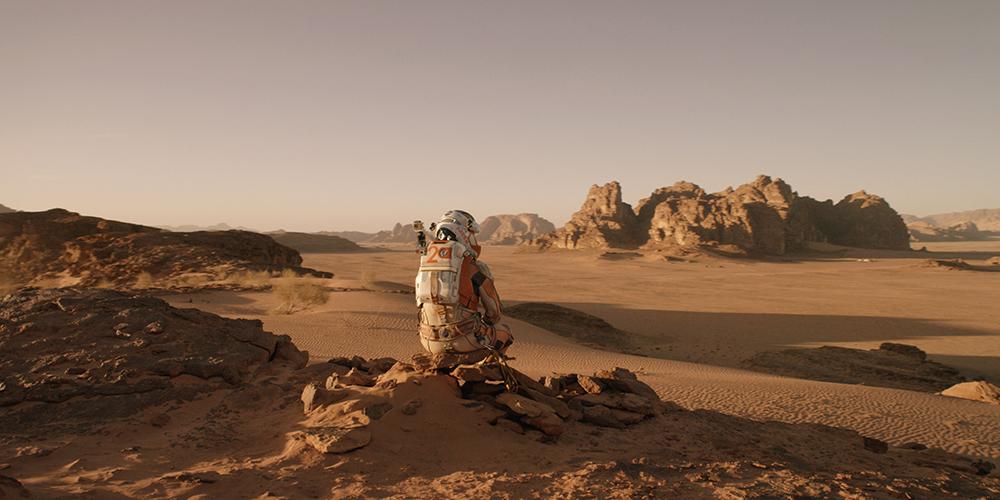 Scena tratta da Sopravvissuto - The Martian
