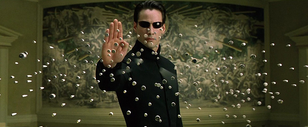 Scena tratta da Matrix Reloaded