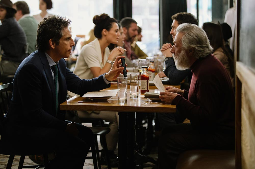 Scena tratta da The Meyerowitz Stories