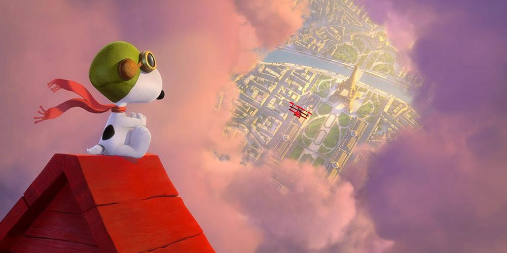 Scena tratta da Snoopy & Friends - Il Film dei Peanuts