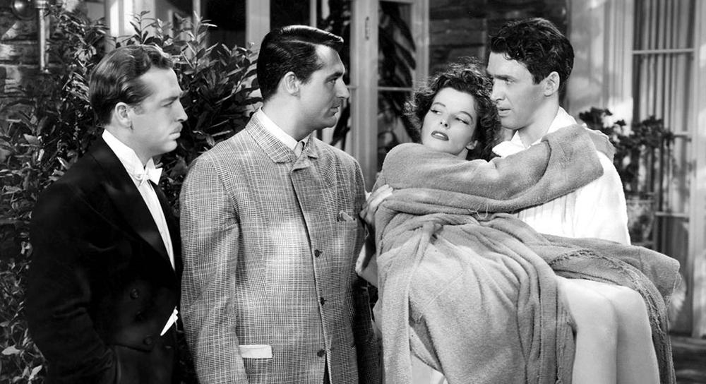 Scena tratta da The Philadelphia Story