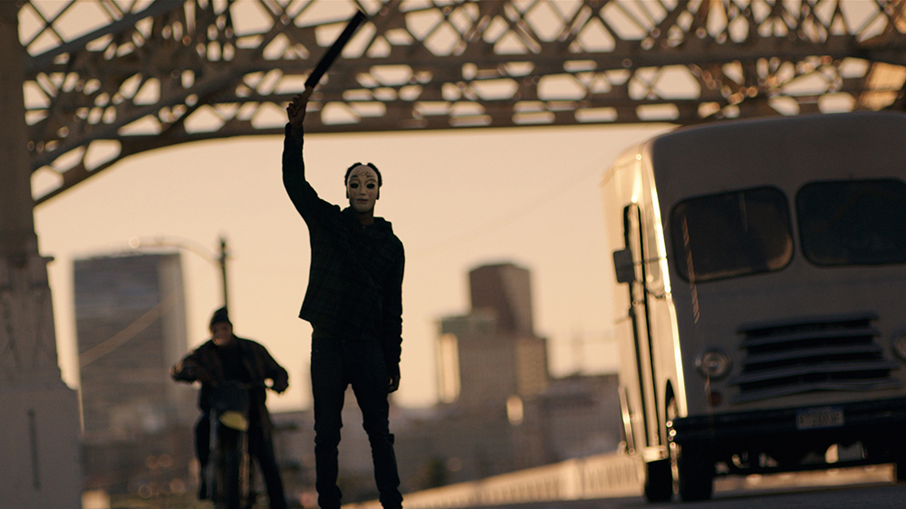 Scena tratta da Anarchia - La Notte del Giudizio