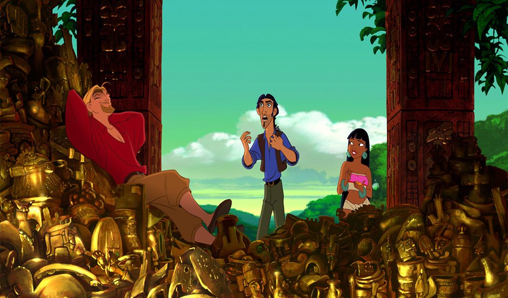 Scena tratta da The Road to El Dorado