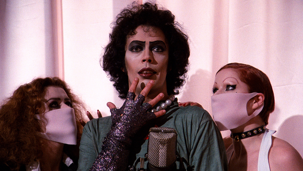 Scena tratta da The Rocky Horror Picture Show
