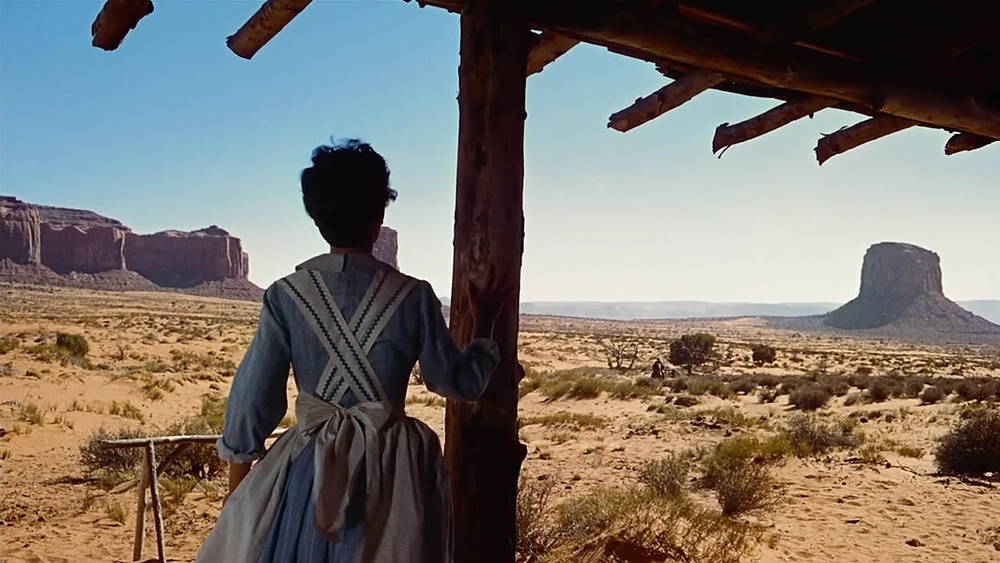 Scena tratta da The Searchers
