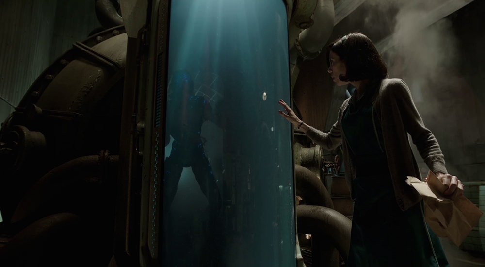 Scena tratta da La Forma dell'Acqua - The Shape of Water