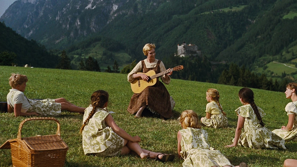 Scena tratta da The Sound of Music