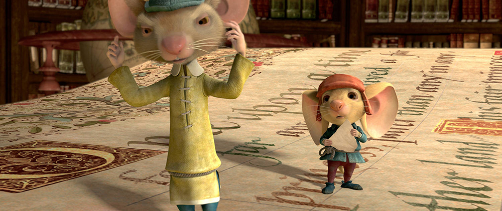Scena tratta da The Tale of Despereaux