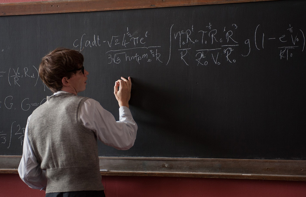 Scena tratta da The Theory of Everything