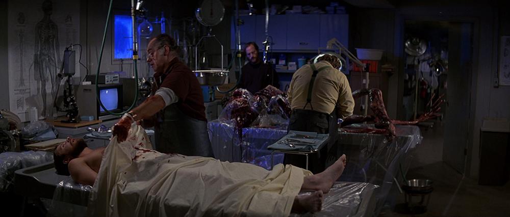 Scena tratta da The Thing