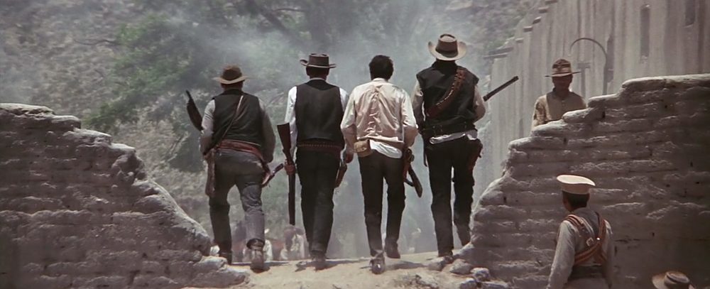 Scena tratta da The Wild Bunch