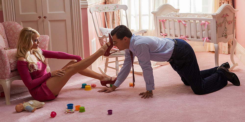 Scena tratta da The Wolf of Wall Street