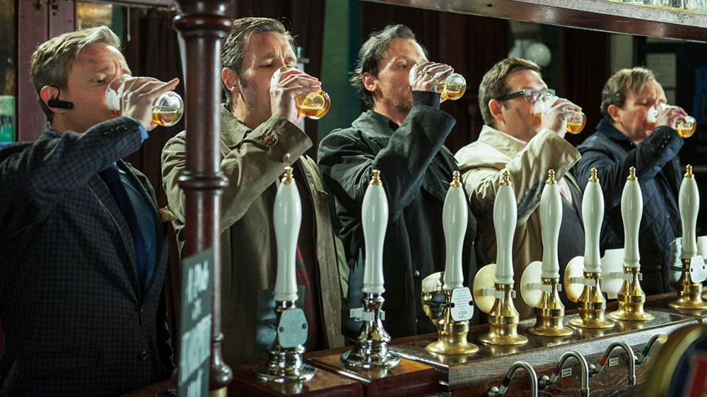 Scena tratta da The World's End